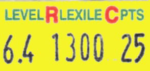 Scholastic Reading Counts label roll(s)